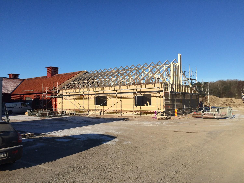 Strömsholm djursjukhus Första delen, operationssalar på gång!